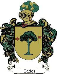 Escudo del apellido Bados
