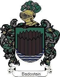 Escudo del apellido Badostain