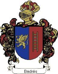 Escudo del apellido Badrés