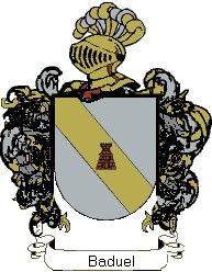 Escudo del apellido Baduel