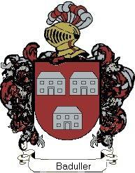 Escudo del apellido Baduller
