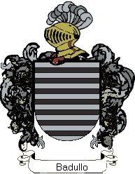 Escudo del apellido Badullo