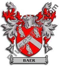 Escudo del apellido Baer