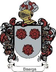 Escudo del apellido Baerga