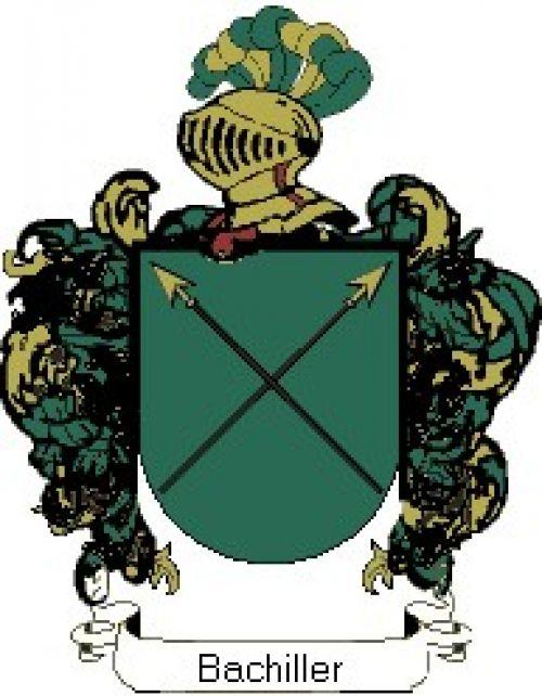 Escudo del apellido Bachiller