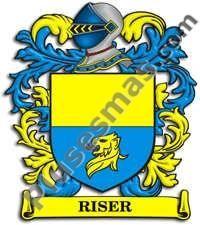 Escudo del apellido Riser