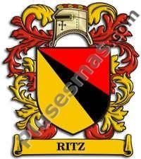 Escudo del apellido Ritz
