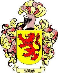 Escudo del apellido Rius