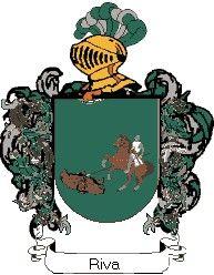 Escudo del apellido Riva