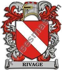 Escudo del apellido Rivage