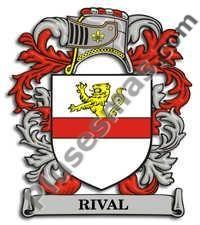 Escudo del apellido Rival