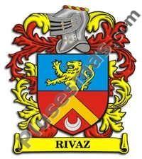 Escudo del apellido Rivaz