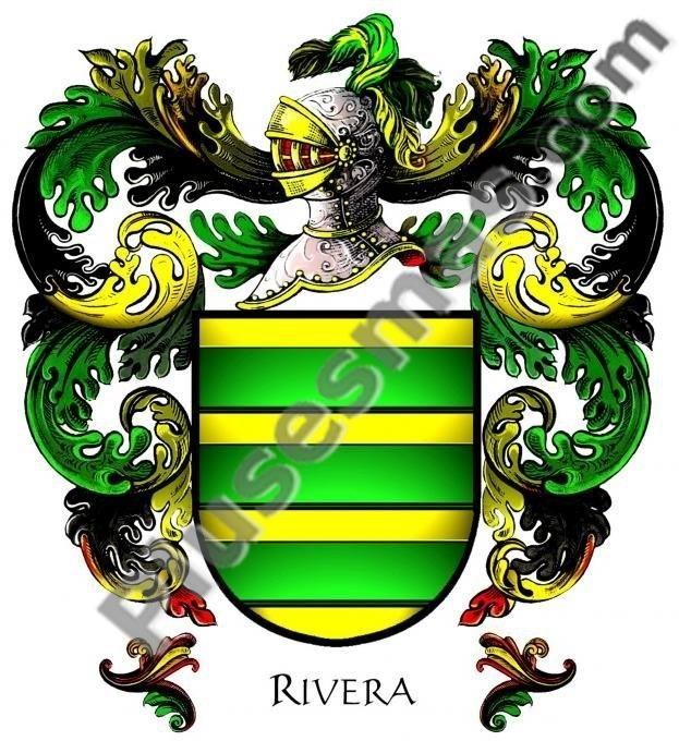 Escudo del apellido Rivera