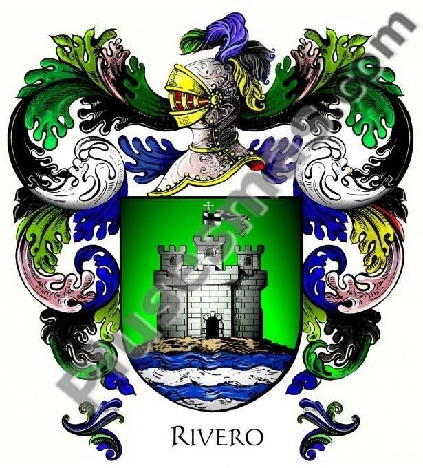 Escudo del apellido Rivero
