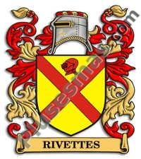 Escudo del apellido Rivettes