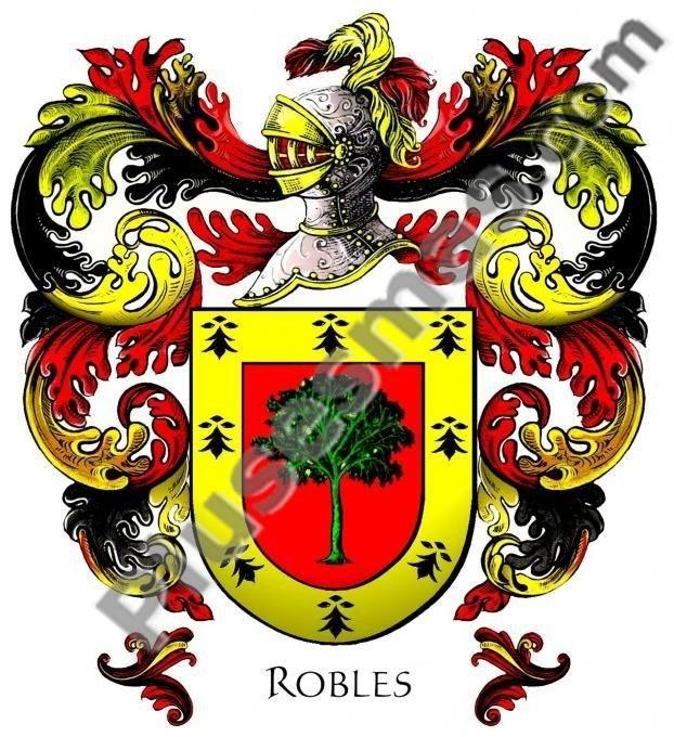 Escudo del apellido Robles