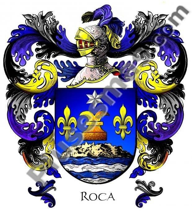 Escudo del apellido roca for Familia roca