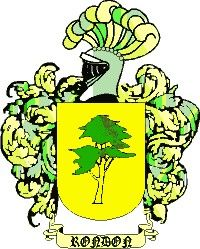 Escudo del apellido Rondón