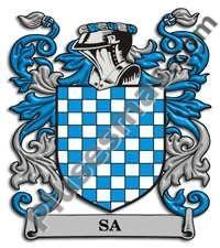 Escudo del apellido Sa