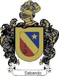 Escudo del apellido Sabando
