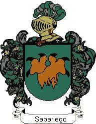 Escudo del apellido Sabariego