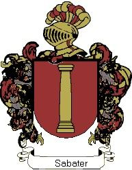 Escudo del apellido Sabater