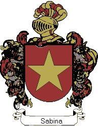 Escudo del apellido Sabina