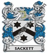 Escudo del apellido Sackett