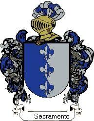 Escudo del apellido Sacramento