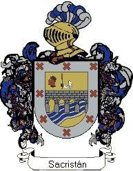 Escudo del apellido Sacristán