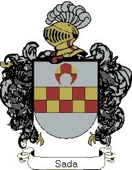 Escudo del apellido Sada