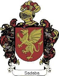 Escudo del apellido Sadaba