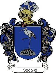 Escudo del apellido Sádava
