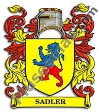 Escudo del apellido Sadler