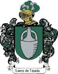 Escudo del apellido Saenz de tejada