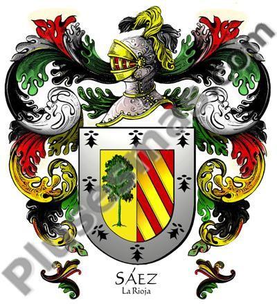 Escudo del apellido Sáez