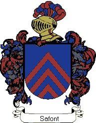 Escudo del apellido Safont