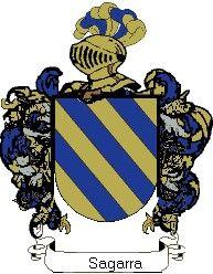 Escudo del apellido Sagarra