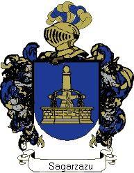 Escudo del apellido Sagarzazu