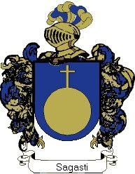 Escudo del apellido Sagasti