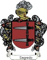 Escudo del apellido Sagredo