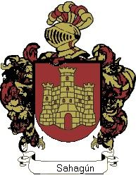 Escudo del apellido Sahagún