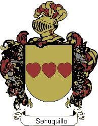 Escudo del apellido Sahuquillo