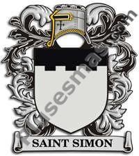Escudo del apellido Saint_simon