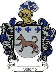 Escudo del apellido Salamo