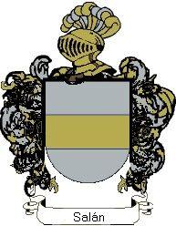 Escudo del apellido Salán