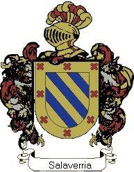 Escudo del apellido Salaverria