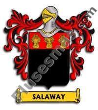 Escudo del apellido Salaway