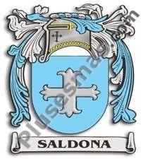 Escudo del apellido Saldona