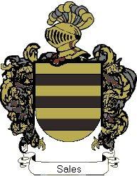 Escudo del apellido Sales